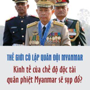 THẾ GIỚI TRỪNG PHẠT QUÂN ĐỘI MYANMAR: