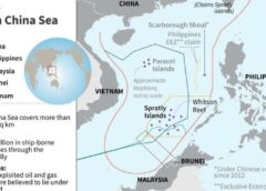 Trung Quốc đòi độc chiếm hơn 80% diện tích Biển Đông.